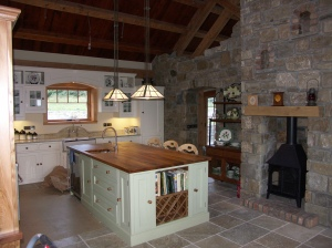 Ireland Kitchen and Stove