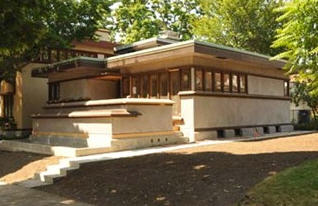 Frank Lloyd Wright System Built Home