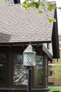 Lancaster Lantern matches roof
