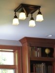 Dearborn Ring Mount Ceiling Fixture