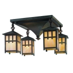 Dearborn with Craftsman Lanterns